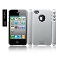 SGP iPhone 4 Case Ultra Thin Matte Series [Satin Silver] (SGP07005)